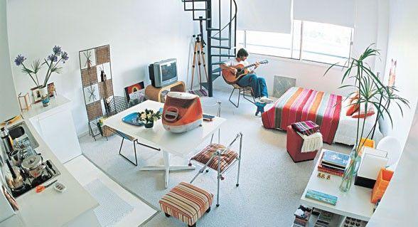 Aprovechar el espacio de una sola habitacion