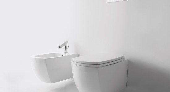 baños con inodoro colgante