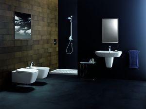 inodoros suspendidos en baño