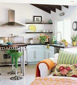 Consejos para decorar un espacio peque o decoracion de - Como aprovechar espacios pequenos ...