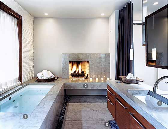 Iluminacion Baño Diseno:El segundo tipo de iluminación se debe colocar en el espejo frente al