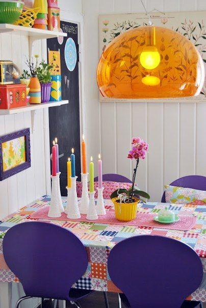 decoracion colorida