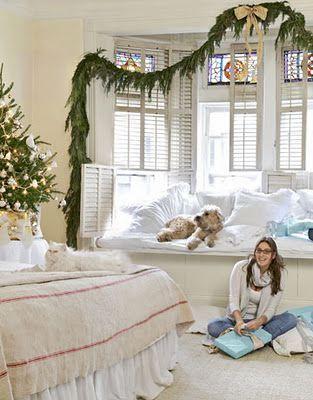 Decoraci n navide a de la casa decoracion de dormitorios for Decoracion navidena hogar