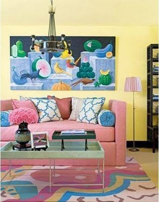decorar_salón_rosa