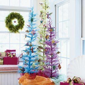 decoracion de arboles navideños