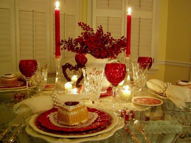 Como Decorar Una Mesa Para Una Cena Romantica Decoracion De Mi - Cena-romantica-decoracion