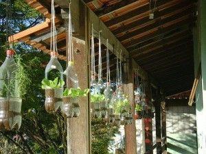 Reciclaje en el jardín