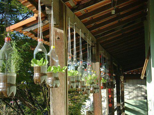 Lecci n 11 materiales reciclables para el jard n - Decorar jardines con materiales reciclados ...