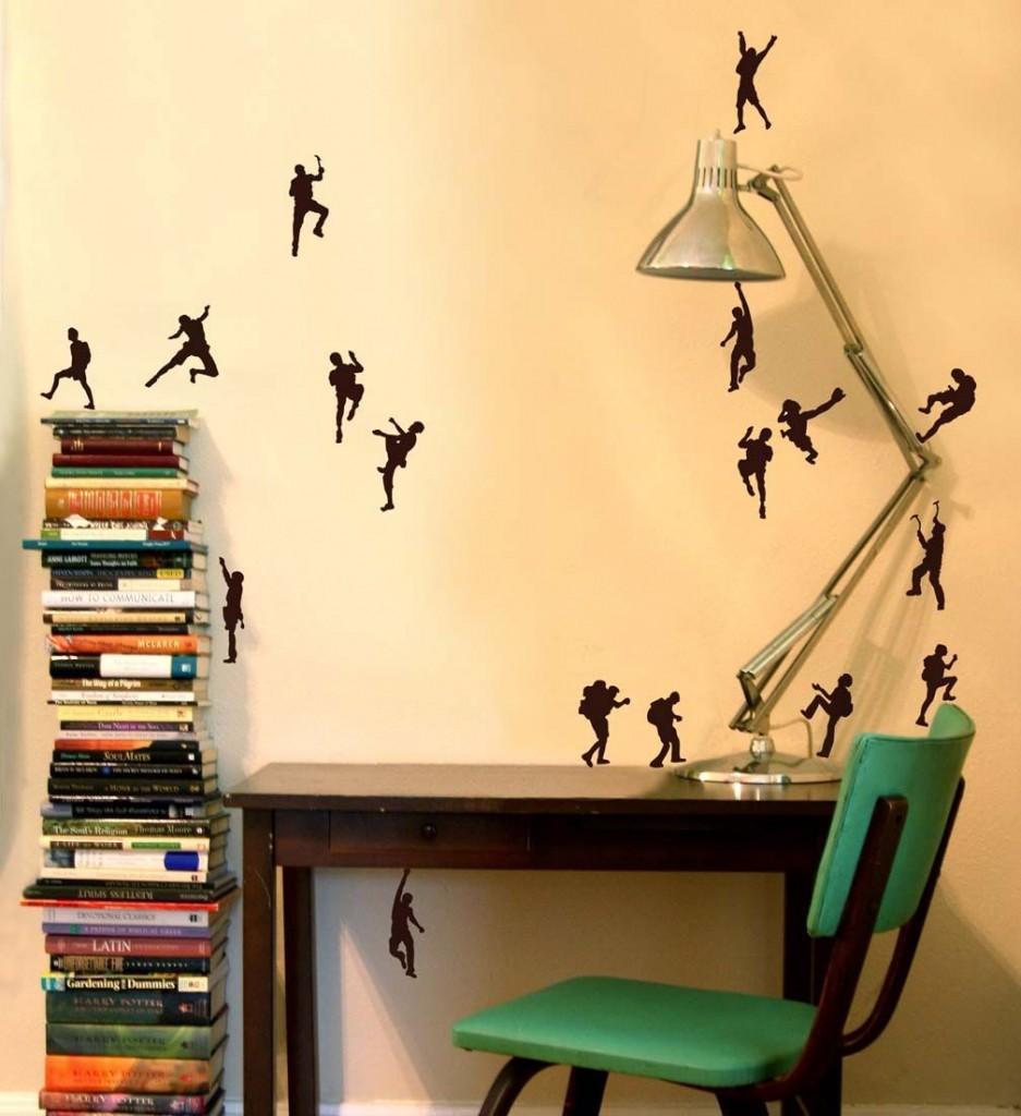 C mo dar vida a una pared blanca adornos para decorar - Decoracion murales paredes ...