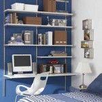 escritorio y estantes de rapi_estant
