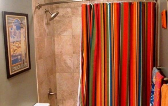 Formas de utilizar las cortinas del ba o cortinas - Formas de cortinas ...
