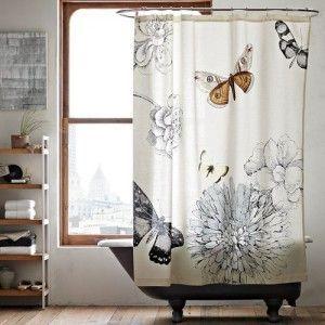 Cómo decorar unas cortinas de baño