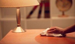 Errores al quitar el polvo de los muebles