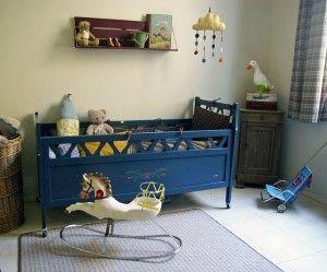Estilo vintage en habitaciones infantiles