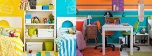 Cómo decorar una habitación infantil compartida