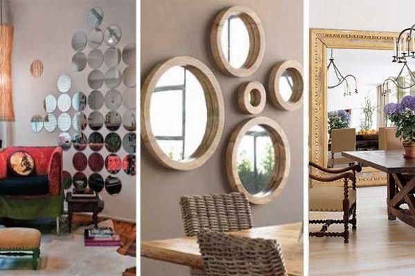 Tips para usar espejos en la decoraci n complementos - Tips de decoracion ...