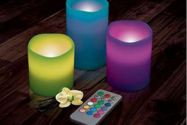 Velas De LEDs Para Decorar Tu Casa1