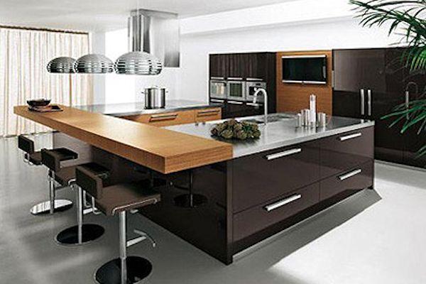 Reforma tu cocina y p sate al estilo americano colocando en ella islas decoracion de mi casa - Cocinas con estilo ...