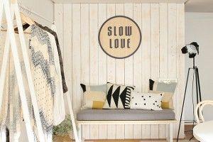 Así es la decoración de Slow Love, Oficina de Sara Carbonero
