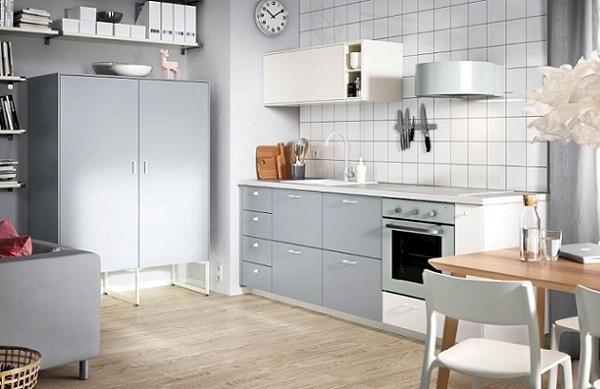 Cocina de estilo escandinavo