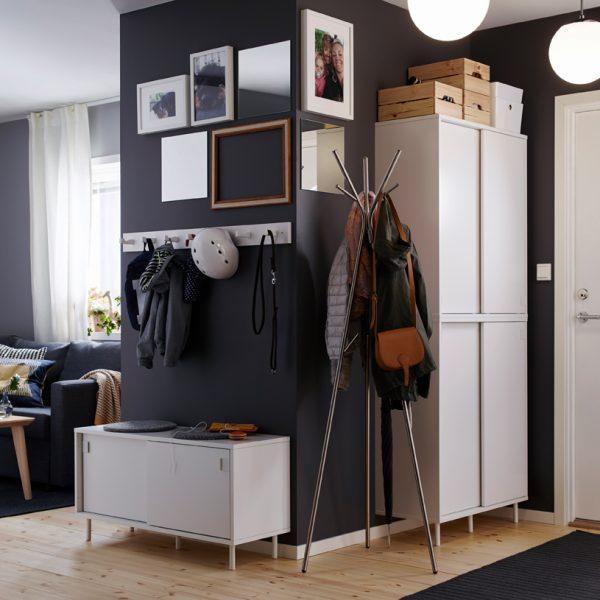 Catálogo Ikea, propuesta de recibidor