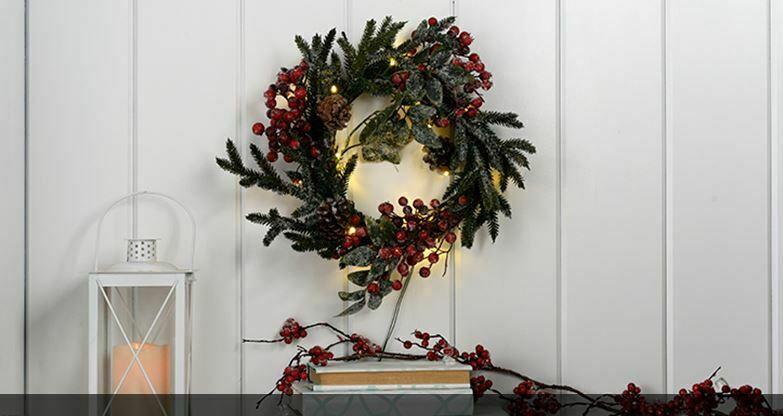 Catálogo de Decoración de Navidad Leroy Merlín