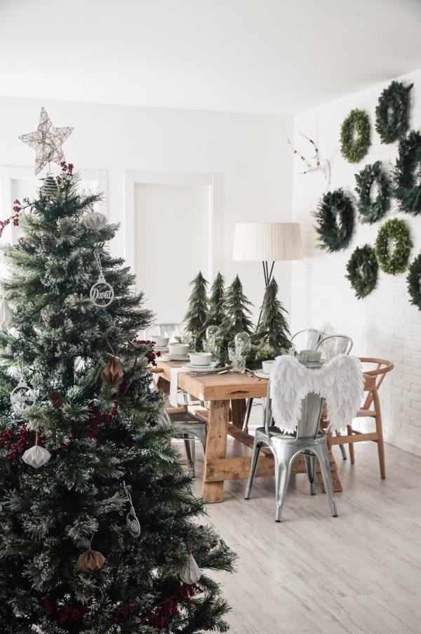 Decoración navideña de Macarena Gea