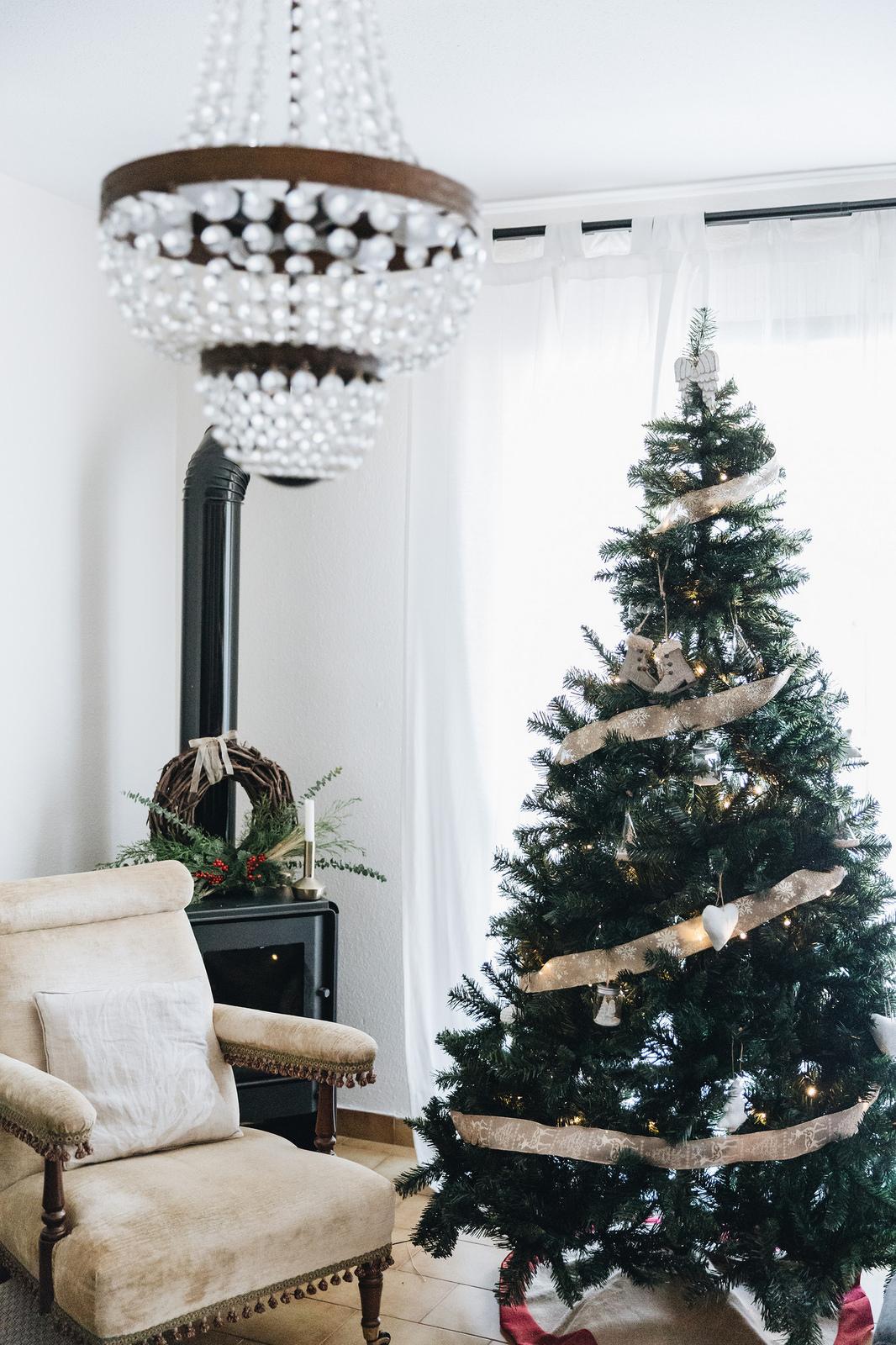 Decoración navideña del blog Seams for a desire