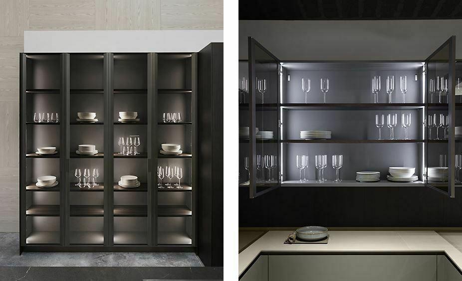 Muebles con puertas de cristal