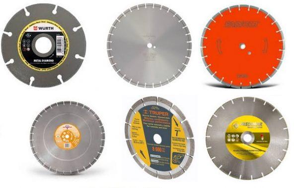 disco de diamante y disco de corte