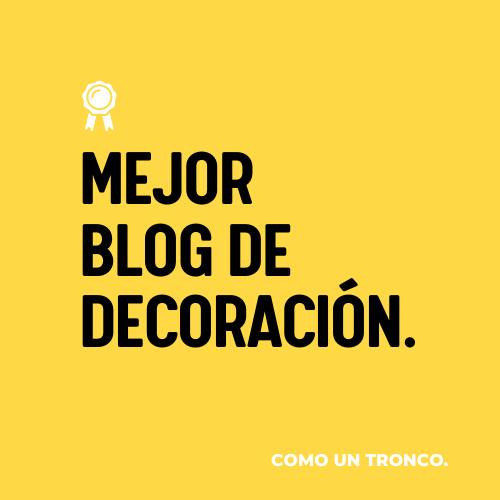 Mejor blog decoracion